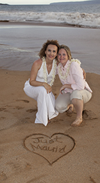 gay and lesbian weddings on Maui, Hawaii
