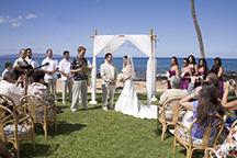 5 Palms Wedding reception