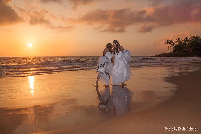 letty and miranda's wedding on Maui