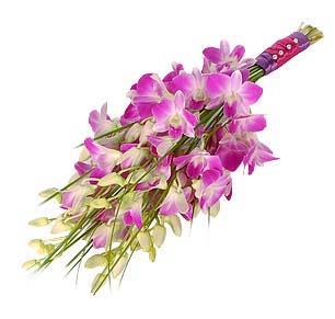 dendrobium bridal bouquet