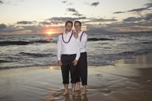 gay wedding beach on Maui Hawaii