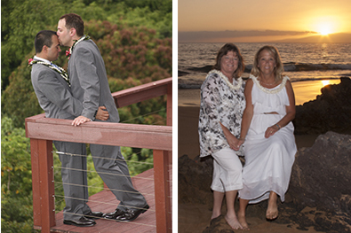Gay wedding packages on maui gay hawaii wedding gay and gay lesbian weddings on maui junglespirit Images