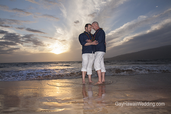 sugar beach gay hawaii wedding gay and lesbian wedding