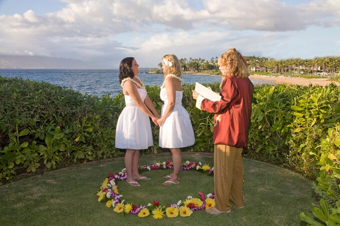 gay and lesbian weddings on maui