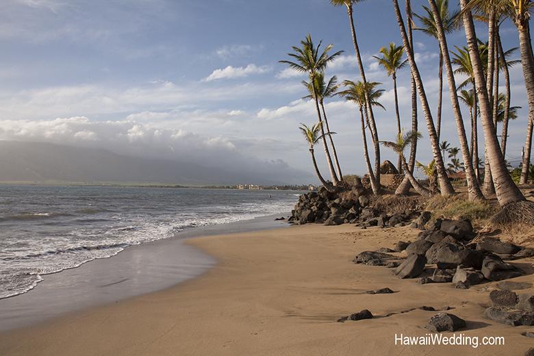 Sugar Beach Wedding on Maui