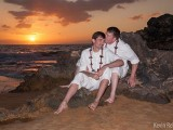 gay weddings in hawaii men on rocks