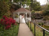 Gazebo at Kula Botanical garden for weddings