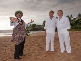 Hawaiian wedding for gay and lesbians on a Maui Beach