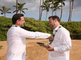 gay and lesbian wedding ceremony on Maui