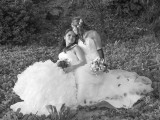 pretty brides in photo together in hawaii