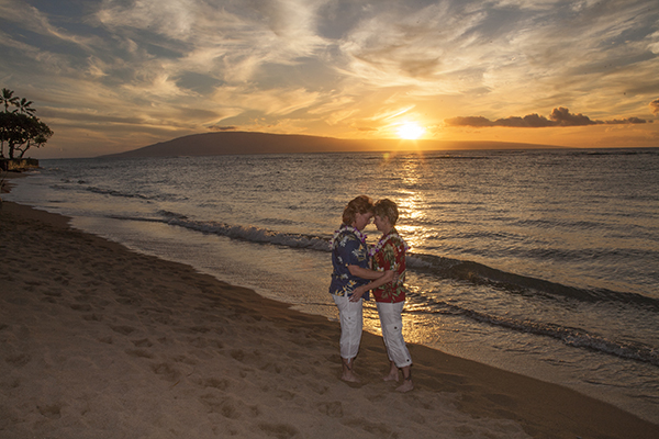 LGBT maui weddings, gay weddings in Kaanapali and Lahaina, Maui, Hawaii