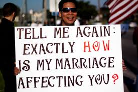 Gay marriage discrimination