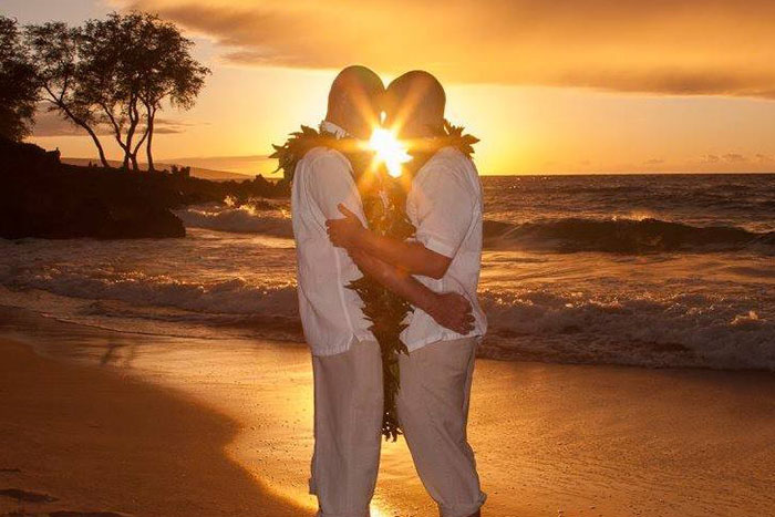 from Keith gay hawaii in wedding