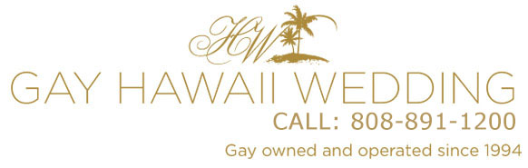 Gay Hawaii Wedding - Gay and Lesbian Wedding Packages in Maui Hawaii